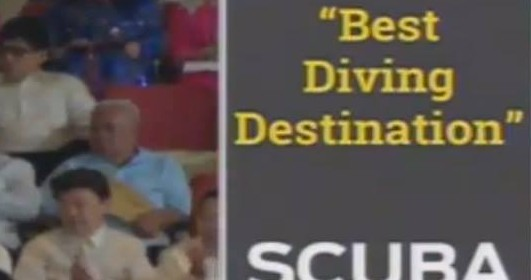 Citation of the dive product in President Aquino's SONA 2013